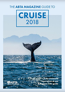 ABTA Magazine guide to cruise 2018 cover