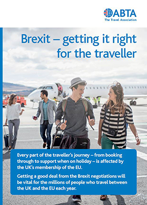 Brexit – getting it right for the traveller cover