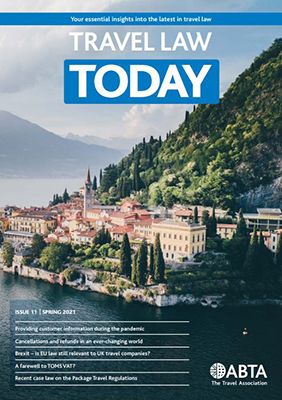 Travel Law Today - Spring 2021 cover