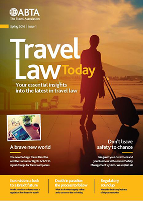 Travel Law Today cover