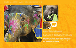 Elephants in Captive Environments cover