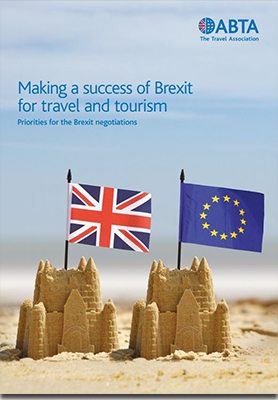 Making a success of Brexit for travel and tourism report cover