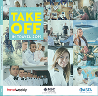 Take off in travel 2019