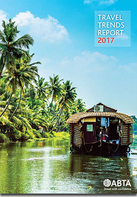 ABTA Travel Trends Report 2017 cover