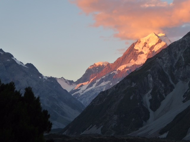 Mount Cook on South Island